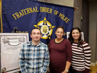 Officer Cruz Obligated Into FOP