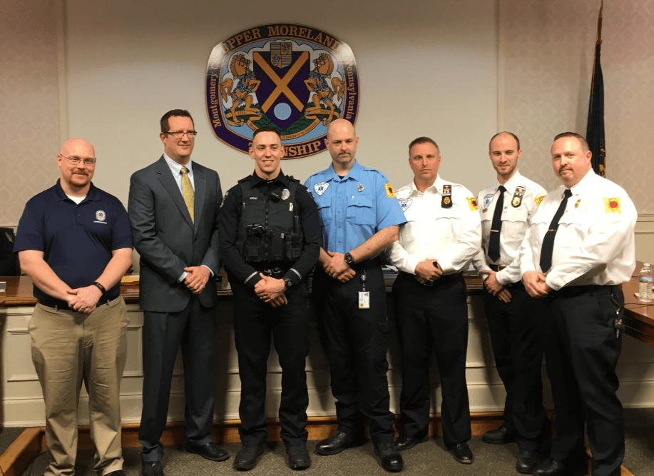 Upper Moreland Police Officers Receive Award