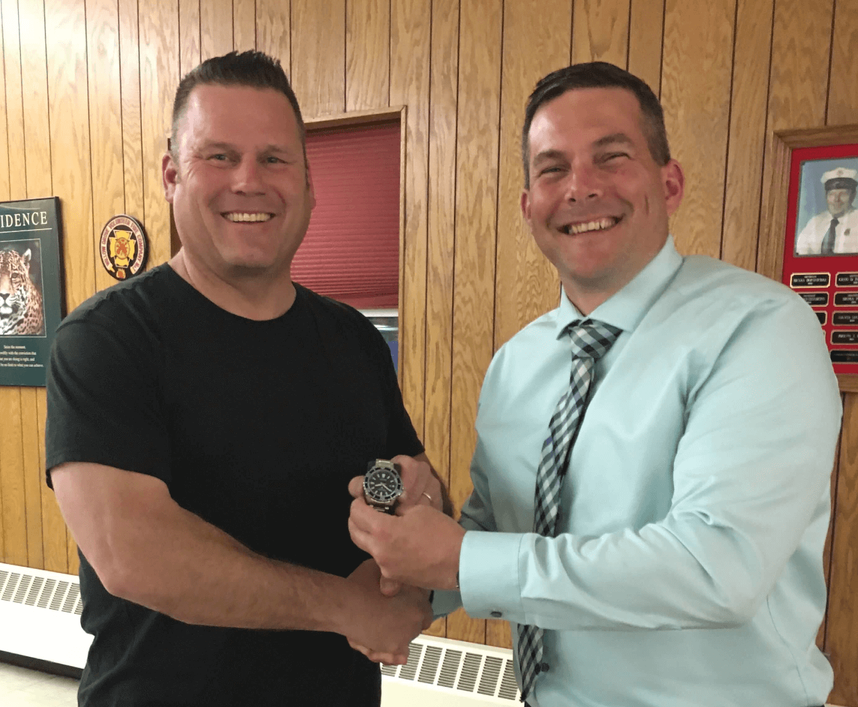 Ofc Magovern 25 Years of Service