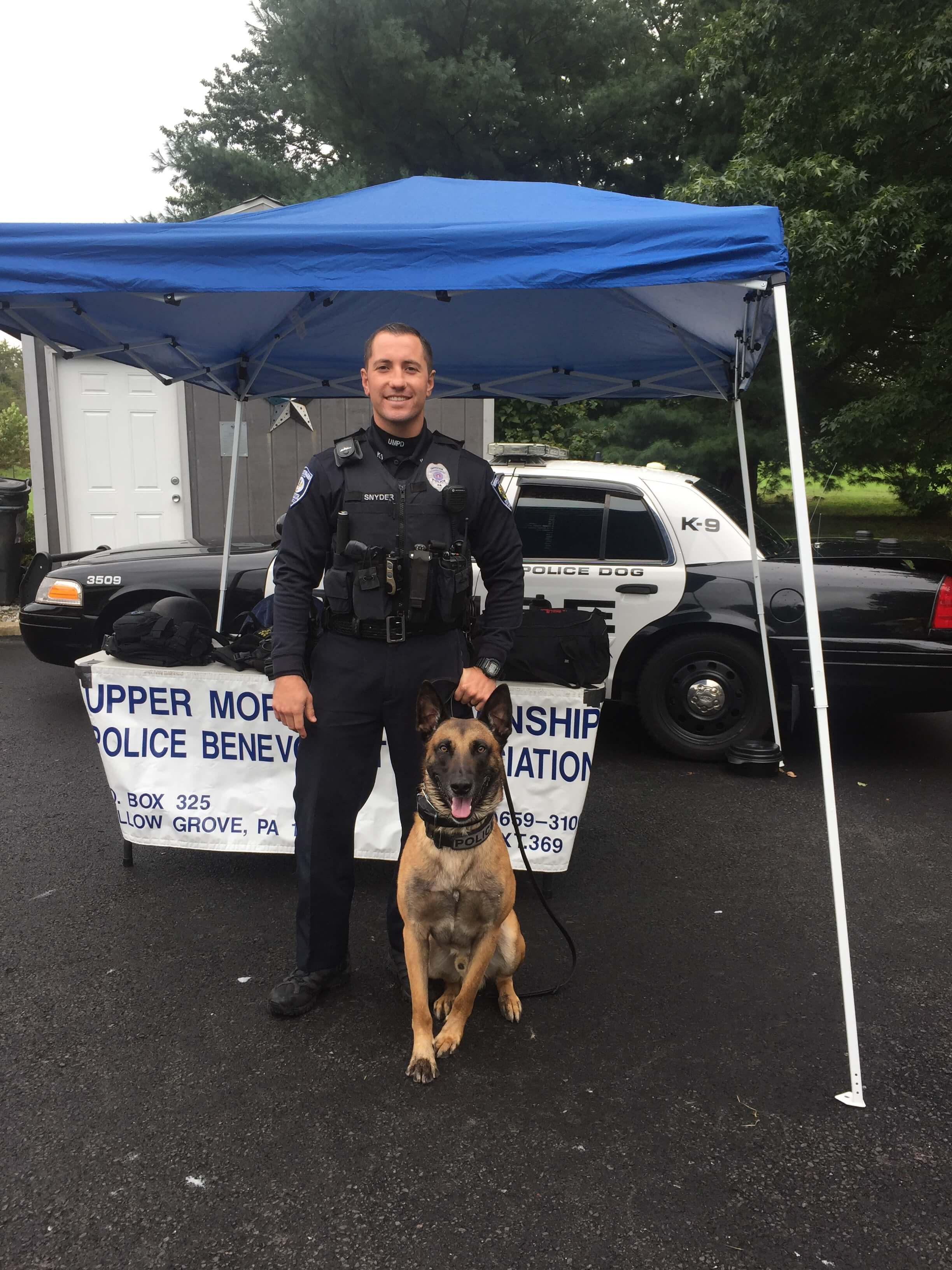 Ofc Snyder and K9 Maximus