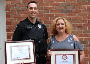 Officer Kidd CPR Award
