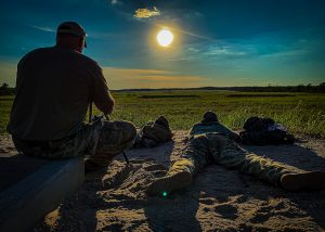 Snipers Dickerson and Misner Shooting at 1500 yards